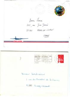 1er 3140 France 98 Ballon-2è 3419 Marianne du 14 juillet